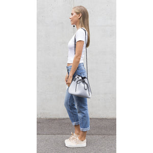 The Billie Bucket Bag (Light Grey Marle)
