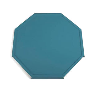 Teal Octray Serving Tray