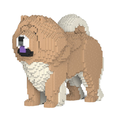 Chow Chow Building Blocks Sculpture