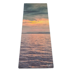Sunset Yoga Travel Mat