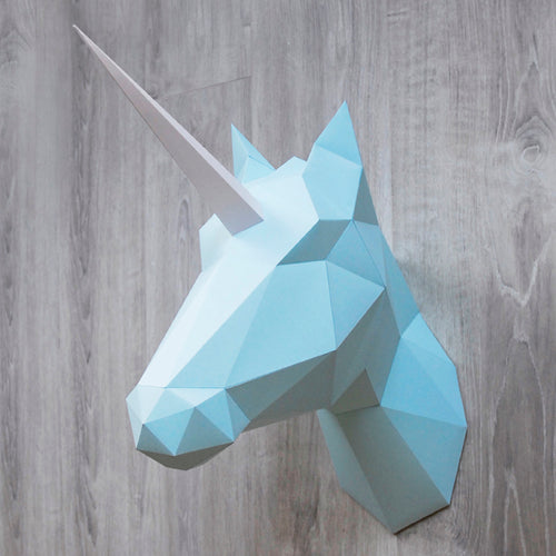 Paper Horse-Unicorn in Soft Mint Totem Kit