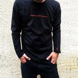 What's Next Long Sleeve Tee by Oddfish