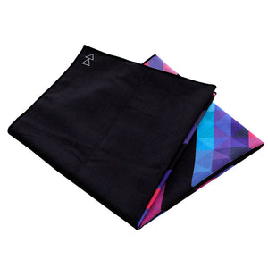 Chevron Maya Yoga Towel