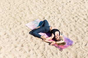 Tribeca Sand Yoga Travel Mat