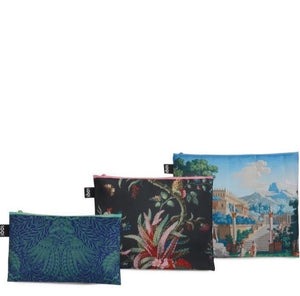Japanese, arabesque, Landscape Zip Pockets Set