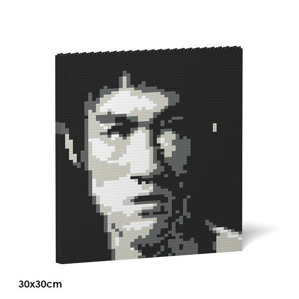 Bruce Lee Brick Frame in Black