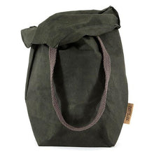 Carry Two Washable Paper Bag In Dark Grey (various colors)