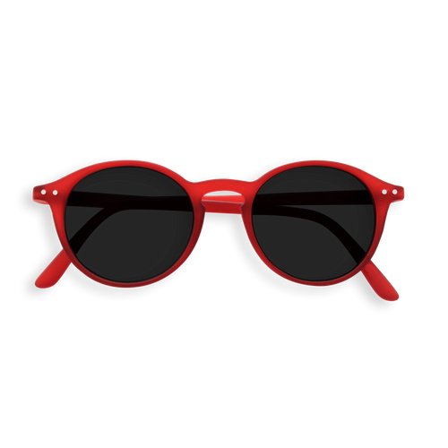 Izipizi Model D Sun Glasses in Red