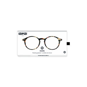 Izipizi Model D Reading Glasses in Tortoise