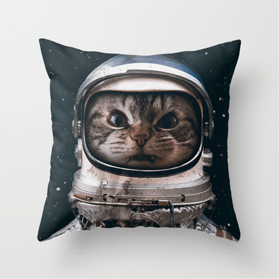 Astronaut Cat - Throw Pillow