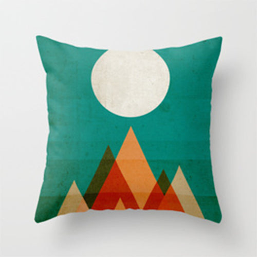 Sunrise - Throw Pillow