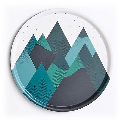 Mountain XL Round Tray
