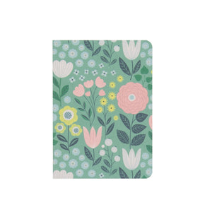 Set of 2 notebooks Tree/Garden