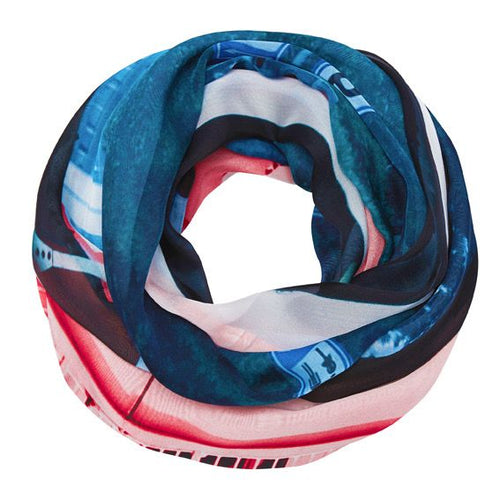 The port of Antwerp Silk Scarf