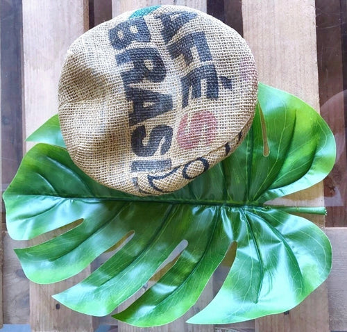 Upcycled Coffee Bag Béret