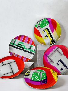 Chiclets Plates Collection by Rana Salam
