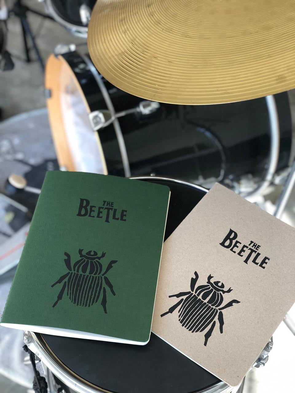 Beetle Large Notebook by Sicou
