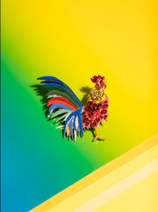 Rooster Brooch by Elsa O