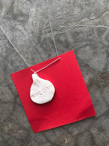 Little Drop Ceramic Handmade Necklace by Sicou