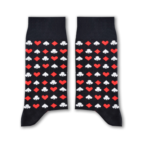 Cards Socks by Sikasok