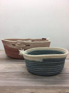 Nuts Handwoven Basket by Wootton