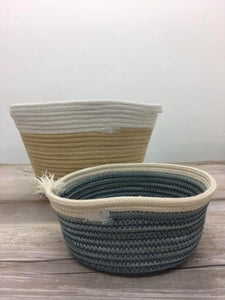 Fruit Handwoven Basket by Wootton