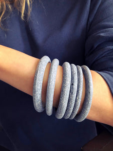 Concrete Medium Bangles by Cluster