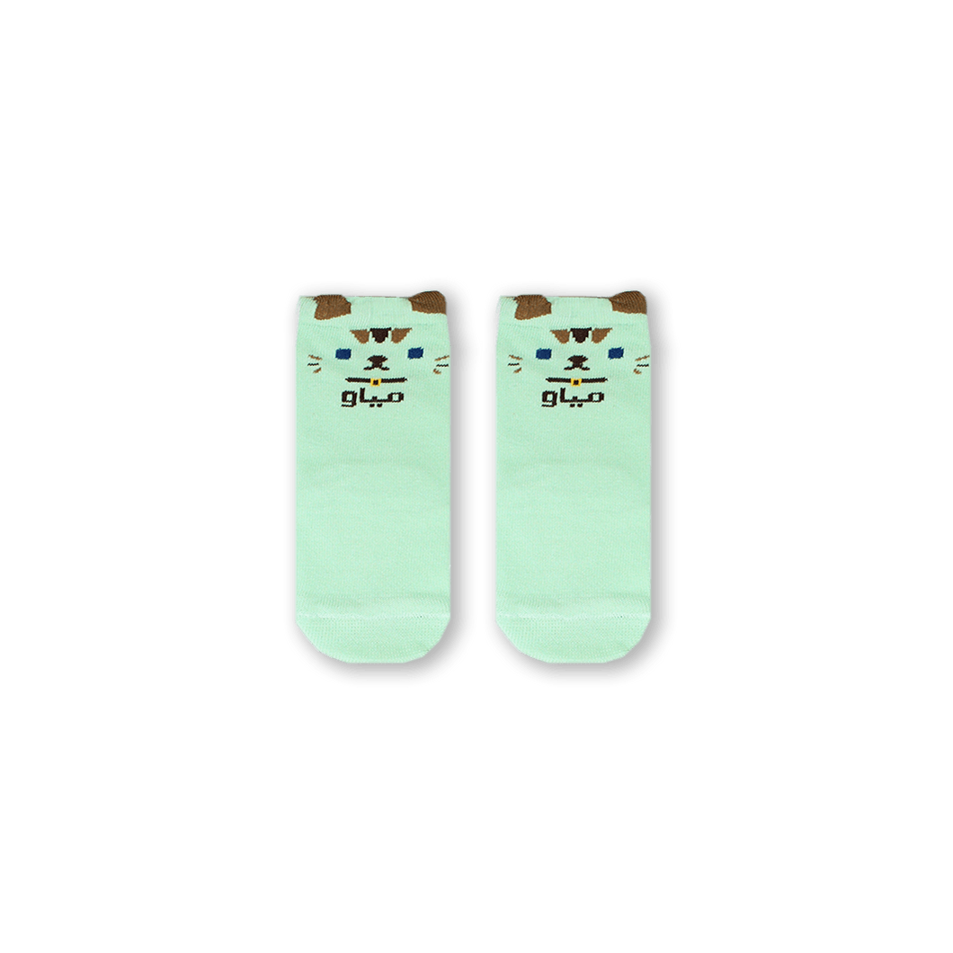 Cat Baby Socks by Sikasok