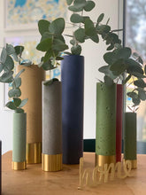 Colored Concrete Vases by Il Était Une Fois