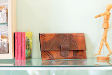 Nour Leather Clutch by Lyliad