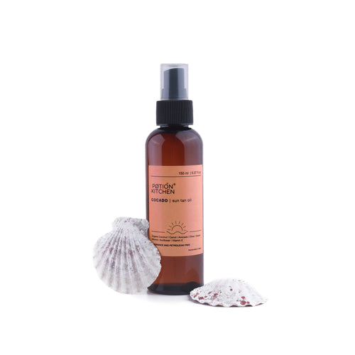 Cocado Sun Tan Oil by Potion Kitchen