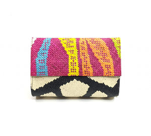 Zamal clutch Purple