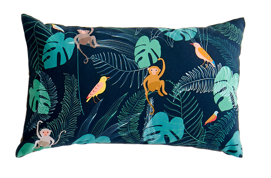 Monkeys Rectangular Pillow
