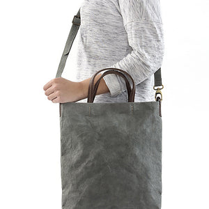 Washable Paper Bag Grey (various colors)