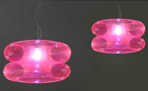 Big Pink Hanging Lamp