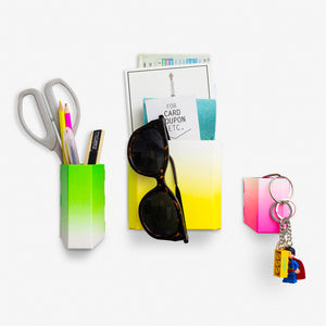 Neon Magnet Storage Pockets