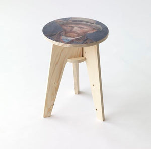 Van Gogh Plywood Printed Stool