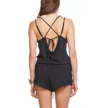 Triblend Black romper