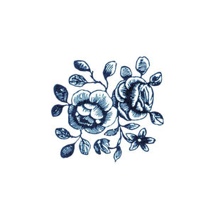 CARTOLINA BLOOMS TEMPORARY TATTOO