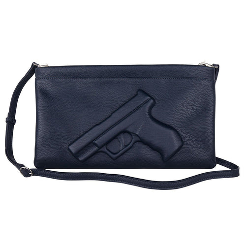 Gun Clutch in Slate (various colors)