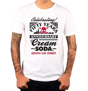 Playera Calavera Celebrate - Cream Soda