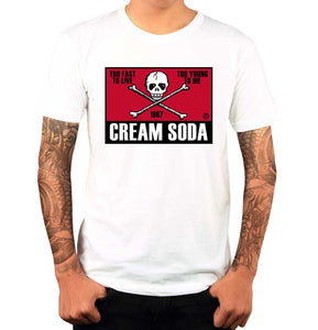 Playera Calavera - Cream Soda