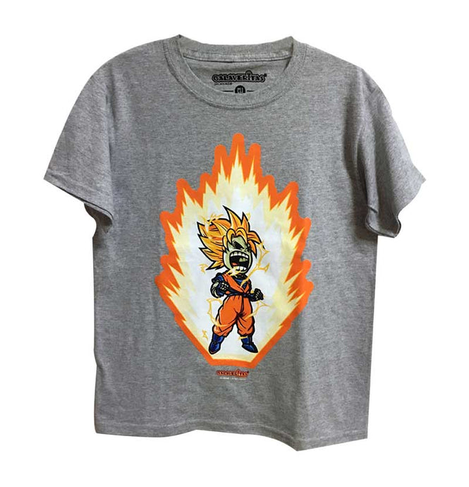 Playera Skull Fighter niño
