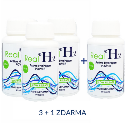 RealH2 Active Hydrogen POWER  3+1 ZDARMA