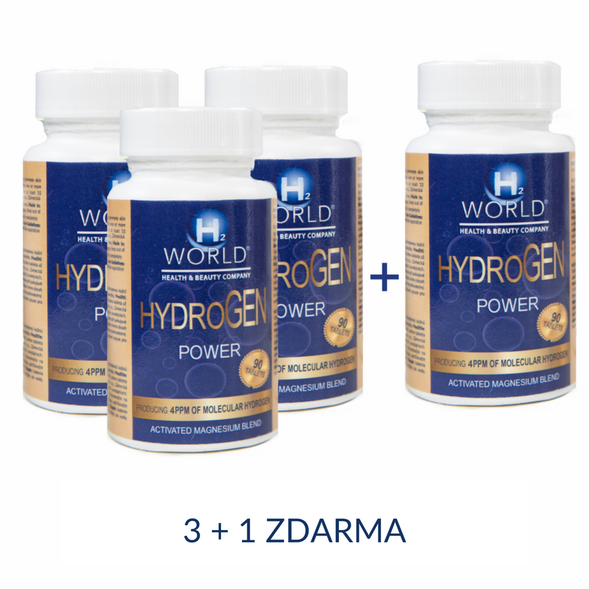 HydroGEN POWER 4ppm 3+1 ZDARMA