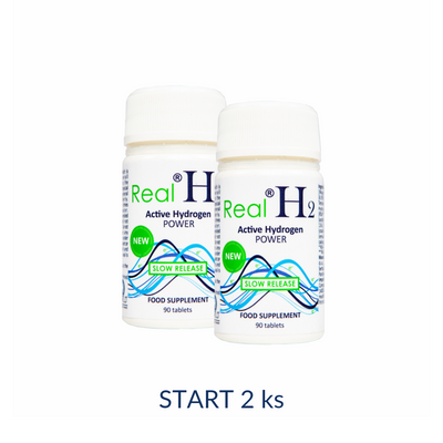 RealH2 Active Hydrogen POWER - balíček START