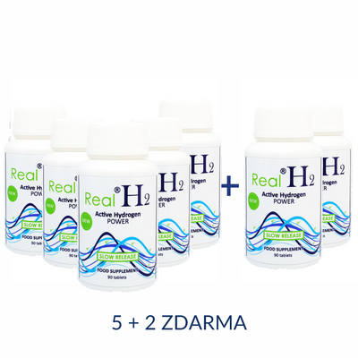 RealH2 Active Hydrogen POWER  5+2 ZDARMA
