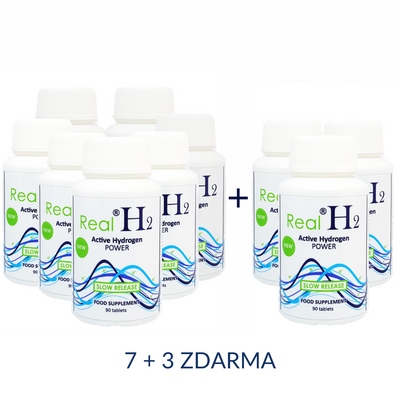 RealH2 Active Hydrogen POWER 7+3 ZDARMA