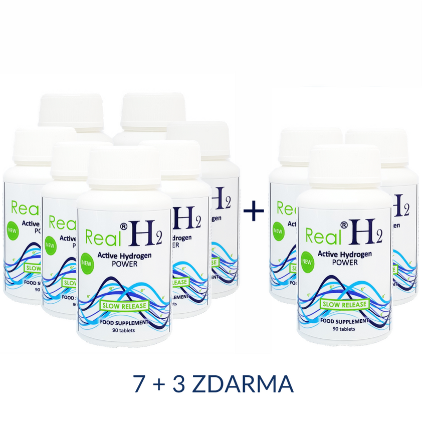 Real®H2 Active Hydrogen POWER 7+3 ZDARMA