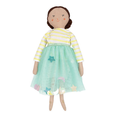 Lila Fabric Doll
